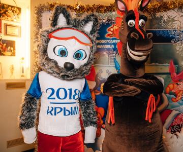 Утренник в Крымскотатарском театре